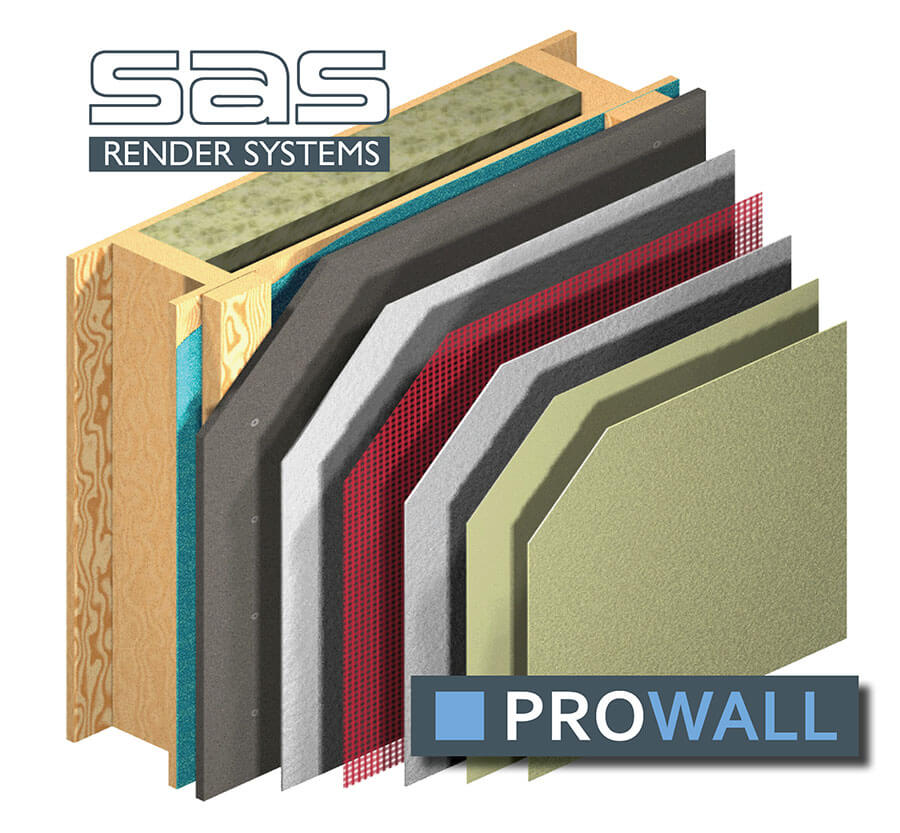 Prowall-on-timberframe